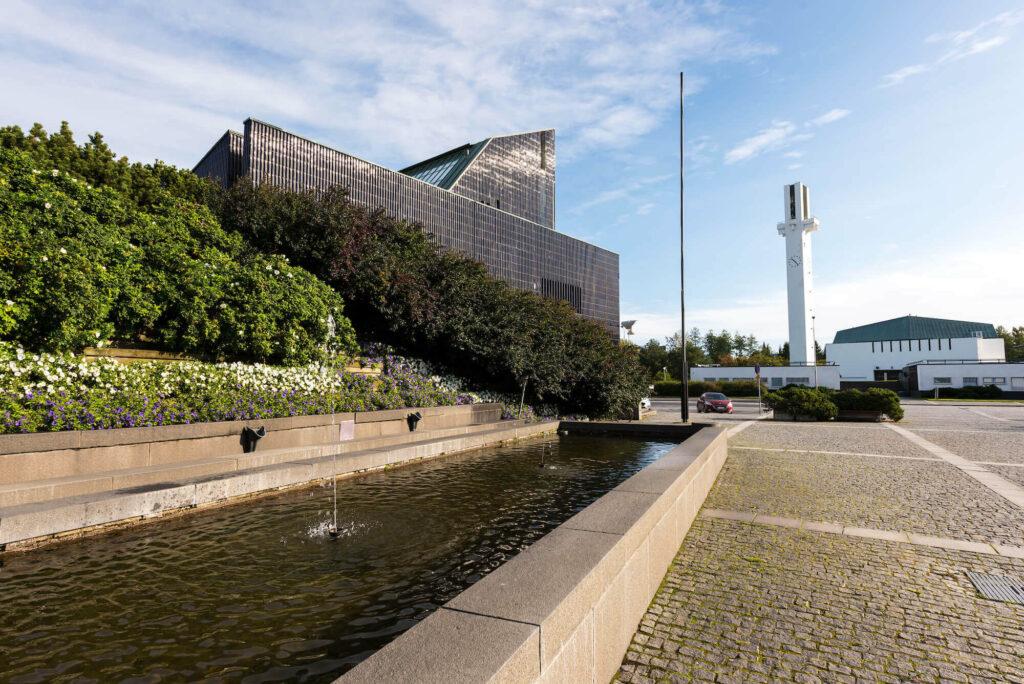 Im Zentrum der von Alvar Aalto geplanten Stadt Seinäjoki in Finnland