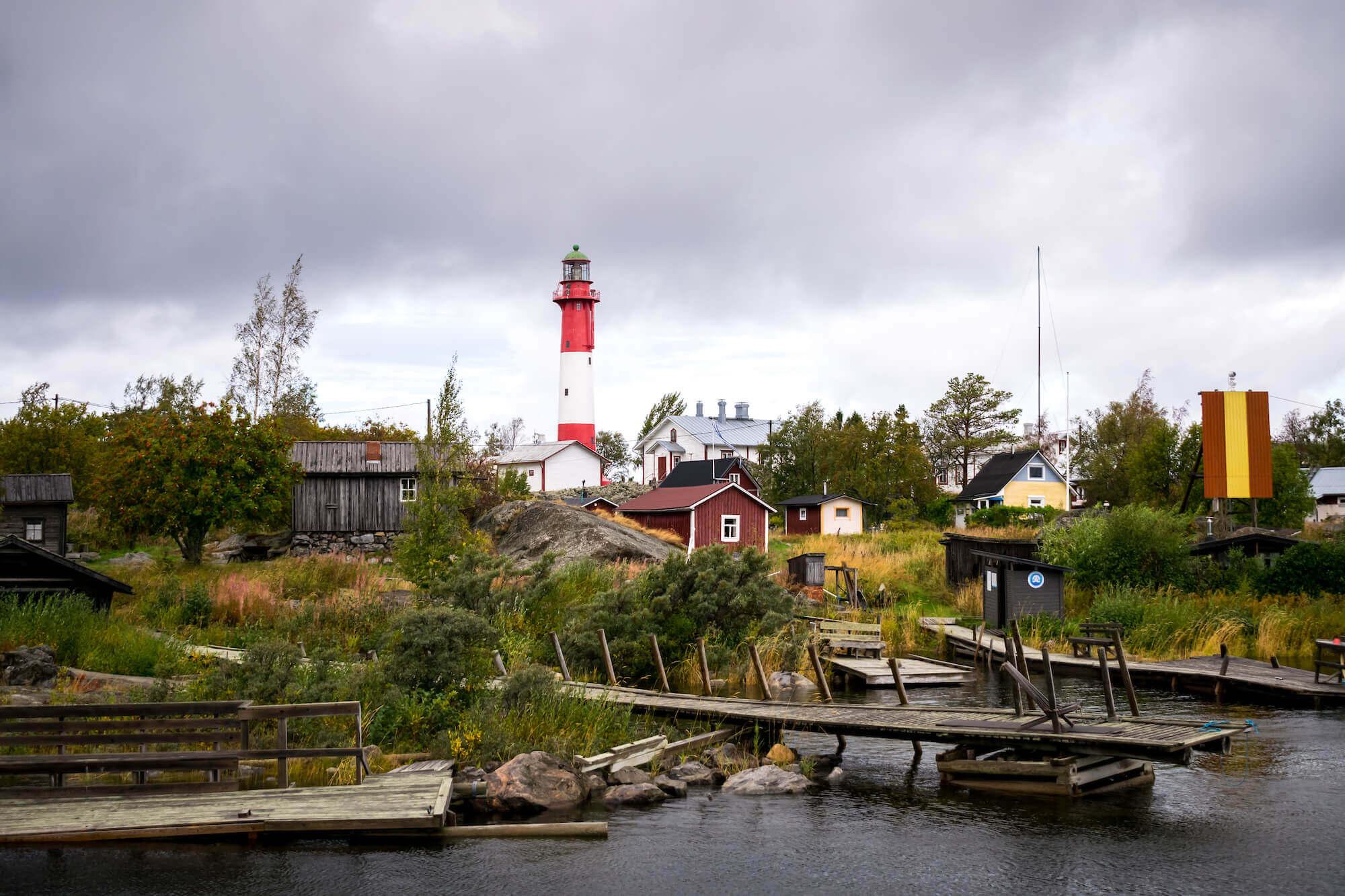 Die Insel Tankar vor der finnischen Küste im Kvarken Schärengarten